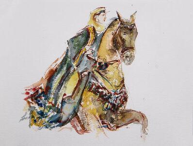 Yalda Sepahpour, 'Watercolor #1', 2019