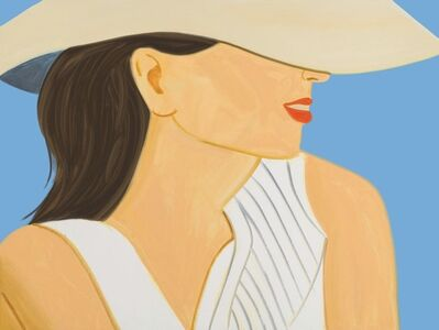 Alex Katz, 'Vivien with Hat', 2021