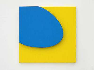 Gavin Turk, 'Small Blue on Yellow', 2019