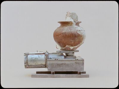 Jonna Kina, 'Red Impasto Jar', 2021
