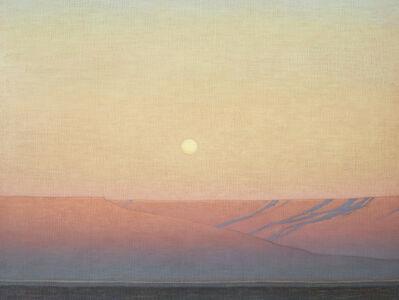 David Grossmann, 'Moon Rising Over the Grand Mesa', 2020