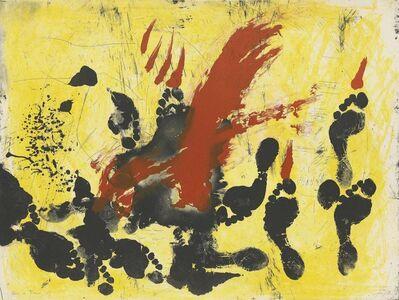 Antoni Tàpies, 'La Taca Vermella', 1972