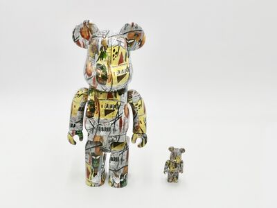 BE@RBRICK, 'BE@RBRICK JEAN-MICHEL BASQUIAT #1 400% 100%', 2017