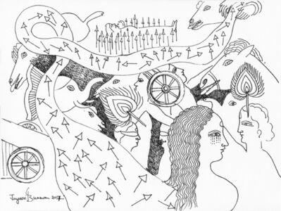Jayasri Burman, 'From the Draupadi Series 10', 2017