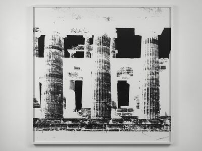Vera Lutter, 'Temple of Nettuno, Paestum, XXII: October 24, 2015', 2015