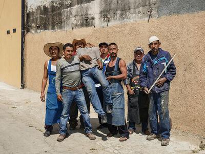 Pieter Hugo, 'After Siqueiros, Oaxaca de Juárez', 2018