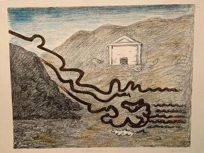 Giorgio de Chirico, ' Il fiume misterioso', 1969