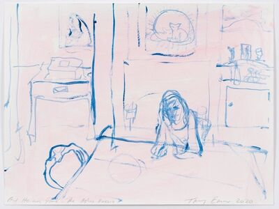 Tracey Emin, 'And He was gone - The ashes room ', 2020