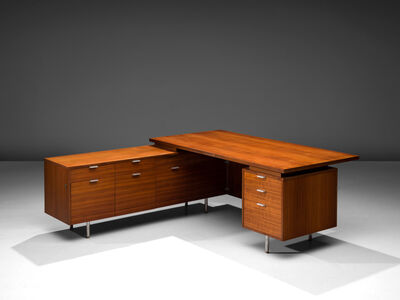 George Nelson, 'L-Shaped Desk by George Nelson for Herman Miller', 1960's