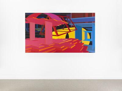 Al Held, 'Siena', 1990