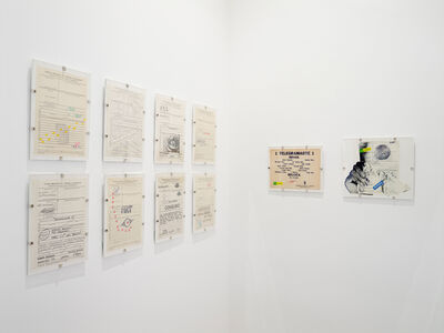 Paulo Bruscky, 'Telegramarte 1', 1978