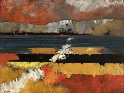 Charles Green Shaw, 'River Sunset', 1957