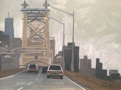 Benjamin Lussier, 'Over the Queensboro', 2017