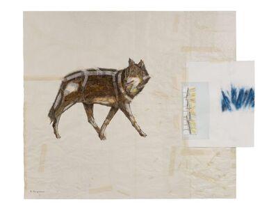 Noriko Yanagisawa, 'Wolf, howling', 2014