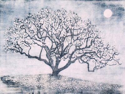 Kazumi Wakayama, 'Magnolia, la lune', 2016