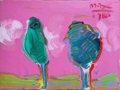 Peter Max, 'PINK SKY', 1986