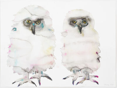 Kim McCarty, 'Untitled (Owls)', 2017