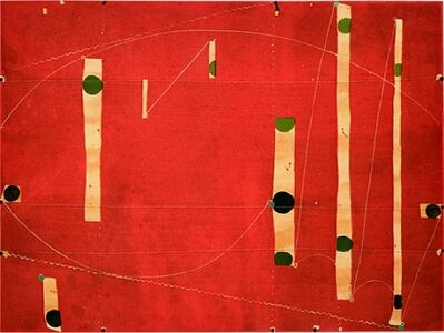 Caio Fonseca, 'Three String Etching, Green Point', 2006