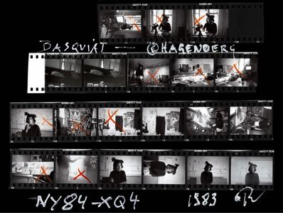 Roland Hagenberg, 'Basquiat Contact Sheet', 1983
