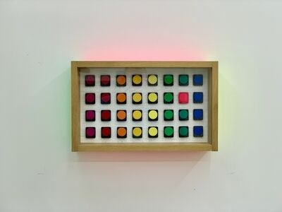 Fabian Freese, 'Rainbow and Rainbow with Pink', 2018