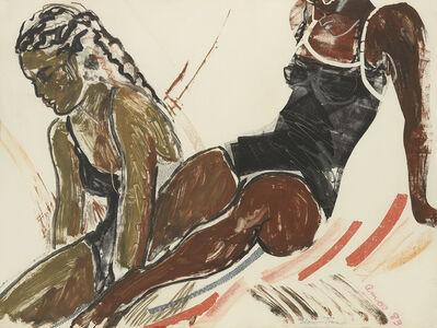 Emma Amos, 'Slow Time', 1983