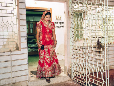 Mahesh Shantaram, 'Bride/Freedom I. Deoghar, JH', 2015