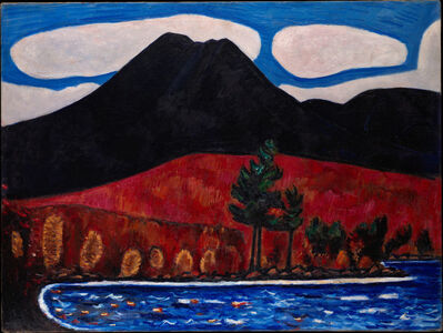 Marsden Hartley, 'Mt. Katahdin (Maine), Autumn #2', 1939–1940