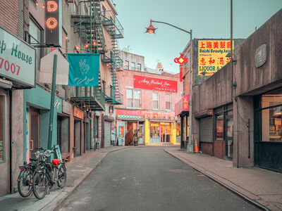 Ludwig Favre, 'Chinatown Colorful', 2020