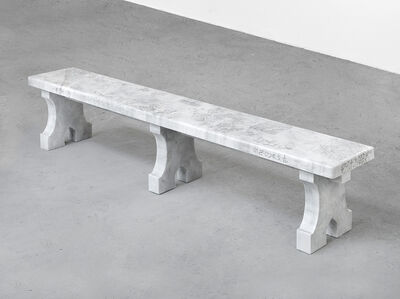 Shannon Bool, 'All Saints Bench V', 2019
