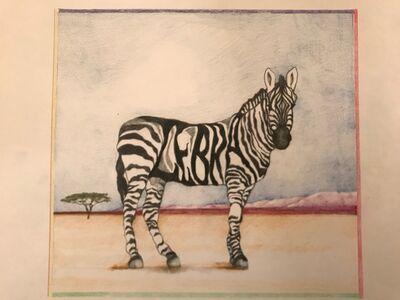 Laura Broaddus Hexner, 'Zebra', 2019