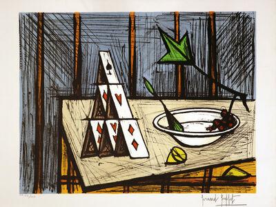 Bernard Buffet, 'Le jeu de cartes', 1991