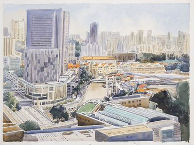 Ong Kim Seng, 'West Bank, Singapore River', 2014