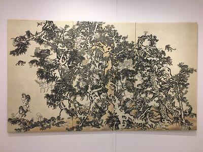 Yang Jiechang 杨诘苍, 'Mustard Seed Garden - Golden Deer', 2010