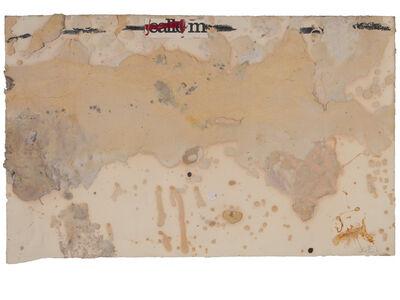 Antoni Tàpies, 'Return of the far living', 1977
