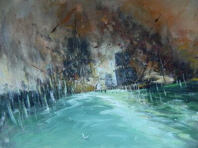 """Konstantin Batynkov, '""""In the harbor"""" 7', 2013"""