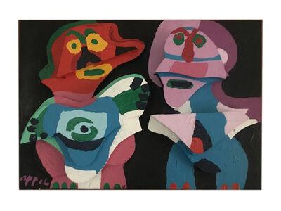 Karel Appel, 'Couple in Wood', 1975
