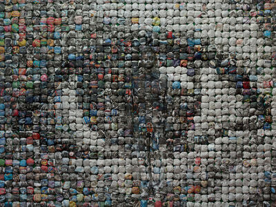 Liu Bolin, 'Hiding in the city - Your World,', 2014