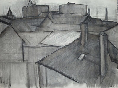Dorothy Mead, 'Rooftops, June 1969', 1969