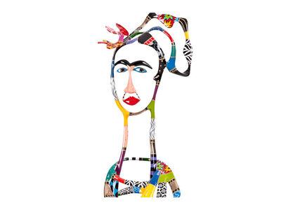 Dorit Levinstein, 'Frida and A Red Bow (Frida Kahlo)', 2013