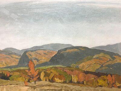 A.J. Casson, 'Autumn Hills - near Dwight', 1976
