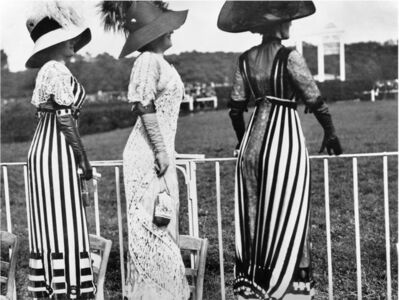 Jacques Henri Lartigue, 'Drag racing day at the Auteuil races, Paris, June 23', 1911