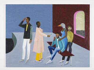 Lubaina Himid, 'Le Rodeur: Exchange', 2016