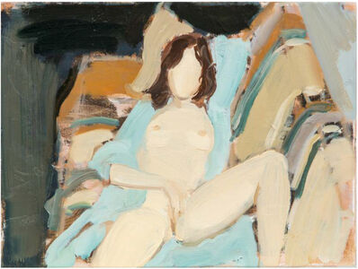 Gideon Rubin, 'On the Sofa', 2019