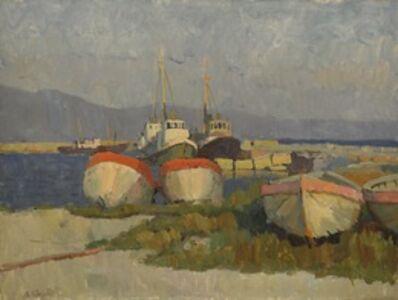 Valery Borisovich Skuridin, 'Sunset in Novorosis', 1975