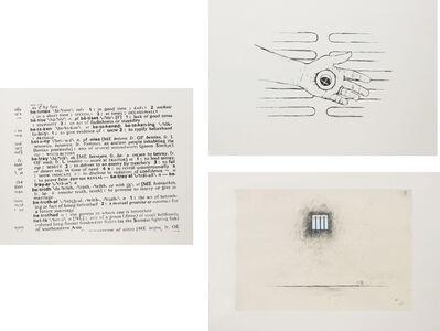 Robert Gober, 'Three Works; Untitled', 2000