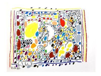 """Pablo Picasso, 'Original Lithograph 'Toros"""" by Pablo Picasso', 1961"""