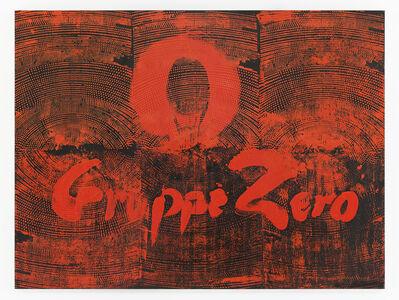 Otto Piene, 'Gruppe Zero', 1957