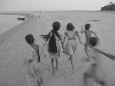 "Mohan Lal Majumder, 'Children Playing, Black & White Photography by Indian Artist ""In Stock""', 2012"