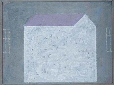 Horst Antes, 'Haus', 2012