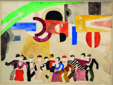 Fernand Léger, 'Set design for Skating Rink', 1921